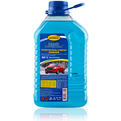 АС-752 Зимняя жидкость стеклоомывателя - 80 концентрат, серия Blue Crystal, 2 л
