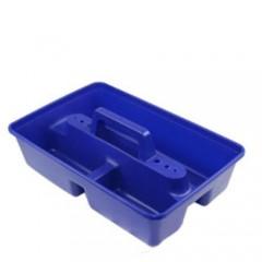 Ящик для хранения автохимии и сопутствующего товара. Цвет: Синий, 381x254x140 мм, G561, KENT