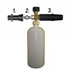 Пенная насадка с пластиковым адаптером для автомойки «KARCHER» (арт.012)
