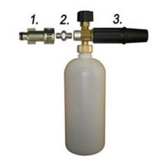 Пенная насадка для автомойки с металлическим адаптером для «PORTOTECNICA» (арт. 015)