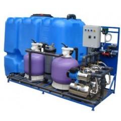 Система очистки воды АРОС 10 для автомойки на 10 постов