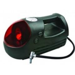 Компрессор автомобильный пластиковый iSky, 18 л/мин, с фонарем